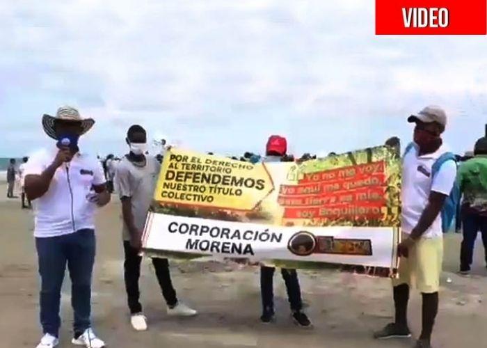 Los Boquilleros acorralados por las urbanizaciones top de Cartagena se resisten a dejar su tierra