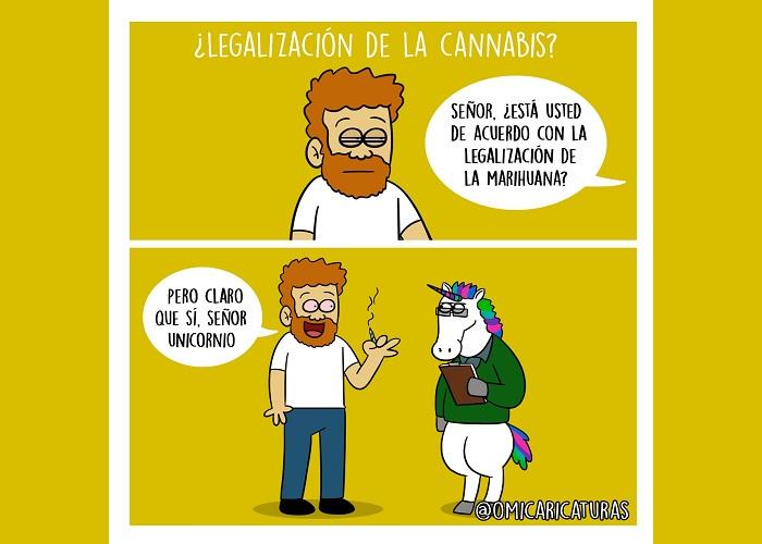 Caricatura: ¿Legalización de la marihuana?