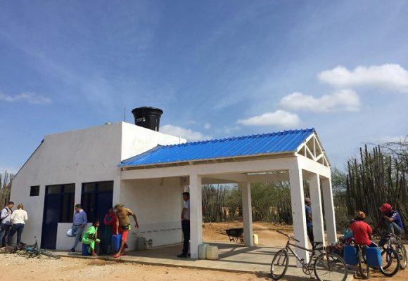Las pilas públicas de Casa Azul en Manaure, La Guajira