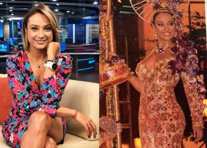 La mujer que le quitó a Monica Jaramillo la corona en el Reinado Nacional de la Belleza