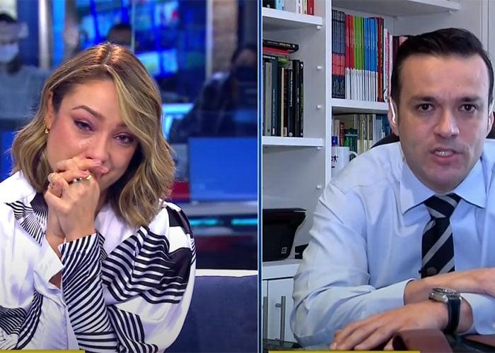 VIDEO: El llanto de Mónica Jaramillo al despedirse de Noticias Caracol