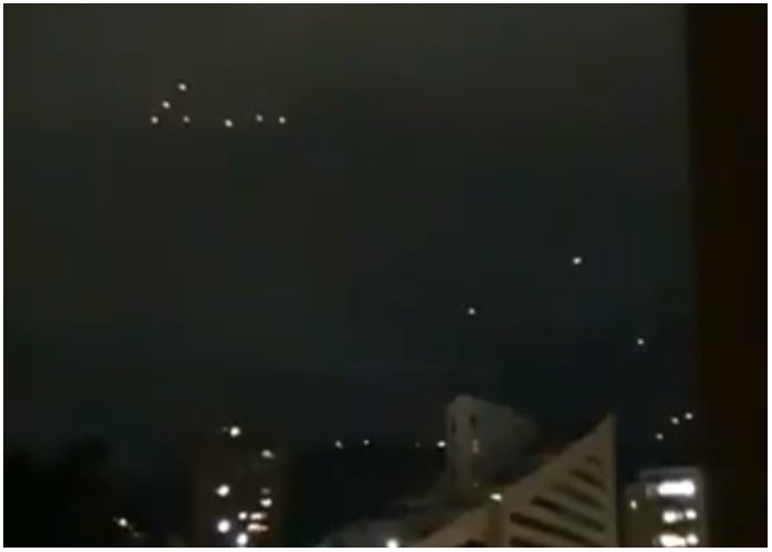 VIDEO: ¿Avistamiento de OVNI's en Medellín?