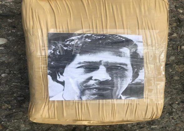 El capo colombiano fallecido Pablo Escobar (Fuente: Policía de Cauca)