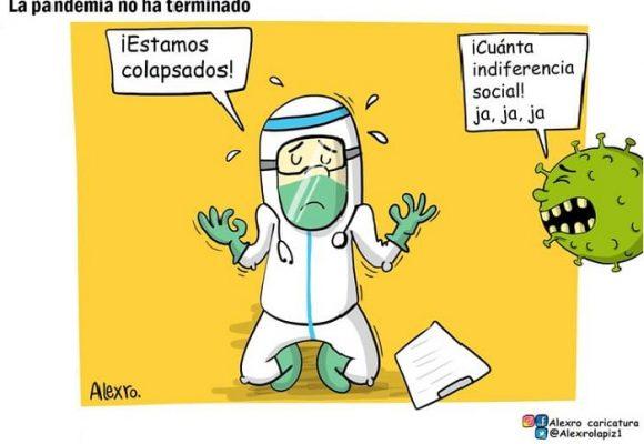 Caricatura: La pandemia no ha terminado