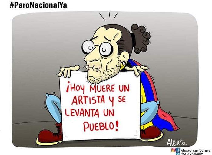 Caricatura: ¡Viene un nuevo paro nacional!