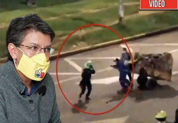 La prueba reina de Claudia López contra la Policía que está en manos de Bachelet