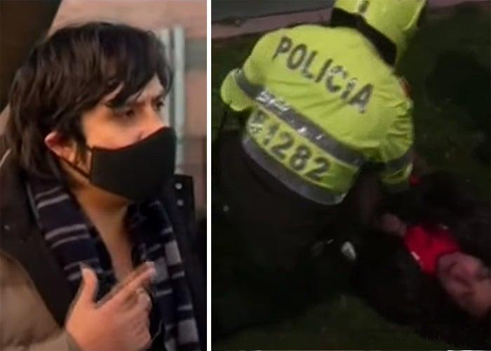 Policía implicado en asesinato de Javier Ordoñez ya habría asfixiado y golpeado a un abogado