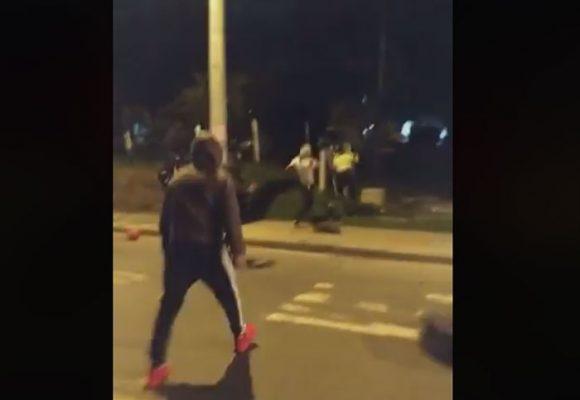 VIDEO: Policías fueron linchados por turba en el norte de Bogotá
