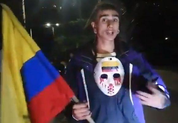 La humildad del joven que fue tildado por Claudia López de vándalo