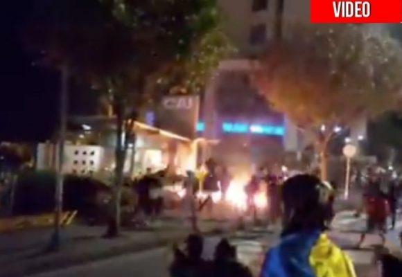 En Manizales también la gente gritó su odio a la policía