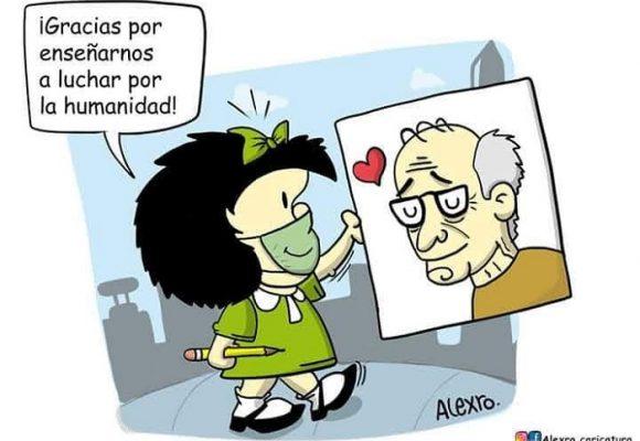 Caricatura: ¡Hasta siempre, Quino!