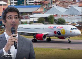 Viva Air se apunta el primer vuelo internacional de Colombia