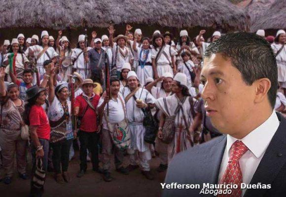Un abogado enfrentado a los indígenas de la Sierra