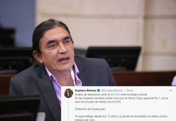 """""""Gobierno de hptas"""" Senador Bolívar estalla contra Duque"""
