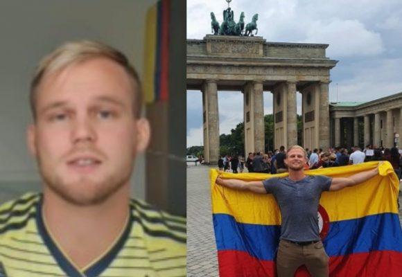 La cachetada de la Cancillería a youtuber alemán enamorado de Colombia