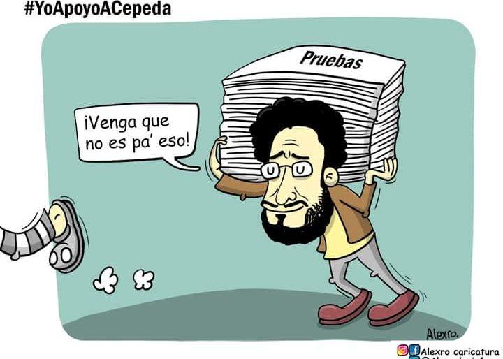 Caricatura: ¡Gracias, Iván Cepeda!