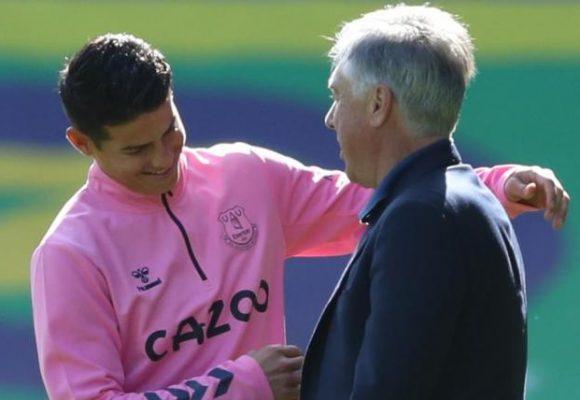 Ancelotti, el papá que tiene felíz a los colombianos del Everton