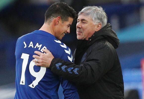 Ancelotti cuida a James como lo que es: una joya delicada y preciosa