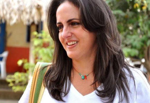 Maria Fernanda Cabal manda a callar a Martin Santos
