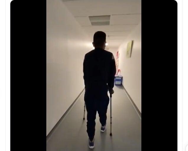 Así salió Nairo Quintana de su operación