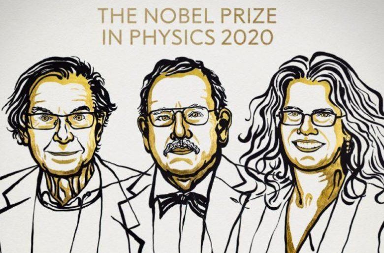 Nobel de física para tres científicos por sus descubrimientos sobre agujeros negros