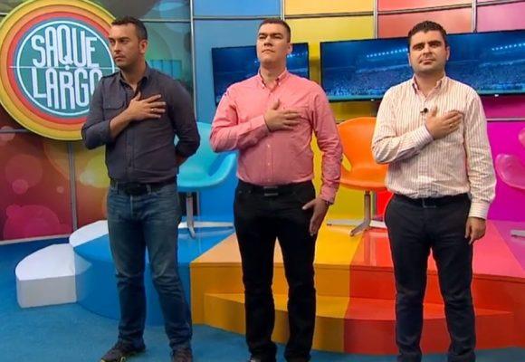 El ridículo que hicieron los periodistas de Win en partido de Colombia