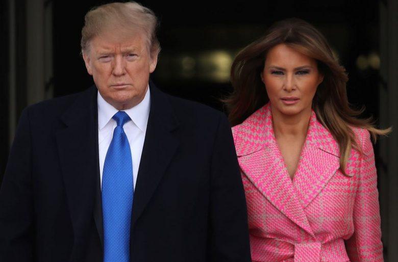 Trump y Melania  positivo por coronavirus
