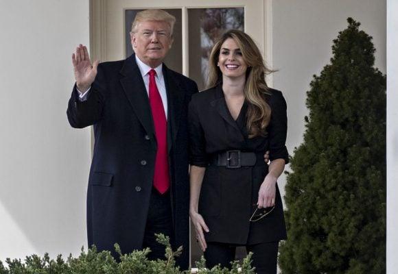 La exmodelo asesora de Trump que pudo haberlo contagiado