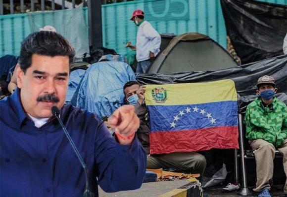 Maduro habla770 muertes COVID, en Colombia son muchos más los venezolanos fallecidos