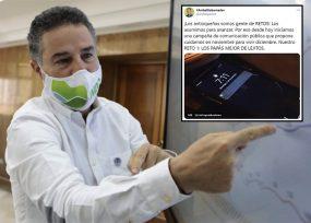 Reaparece Aníbal Gaviria declarándole la guerra al coronavirus