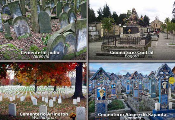 Bellos y curiosos cementerios del mundo