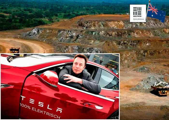 Los carros eléctricos de Telsa podrían terminar usando níquel de Cerro Matoso