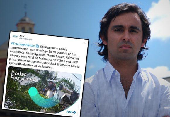 Felipe Ríos con Aire-e se la está ganando a EPM con las comunicaciones