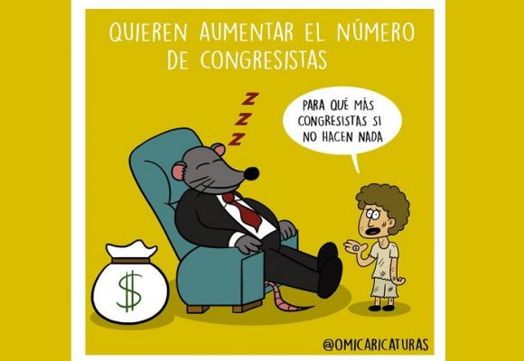 Caricatura: La desfachatez del Congreso