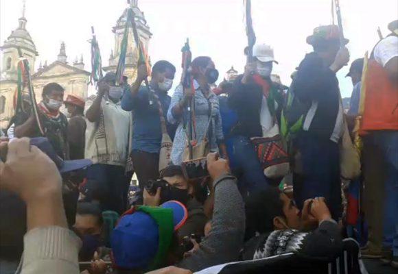 EN VIVO: La Minga, juicio político al presidente Iván Duque
