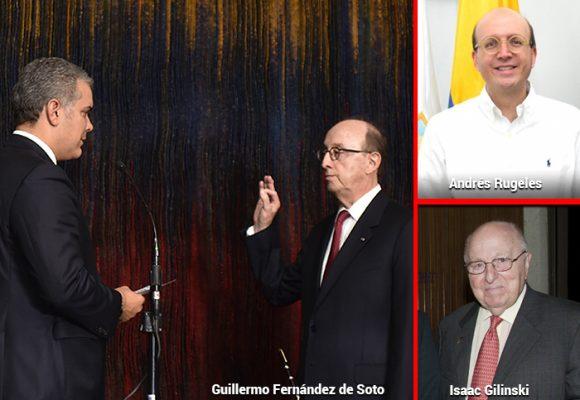 Con Isaac Gilinski Colombia queda con tres embajadores ante la ONU en Nueva York