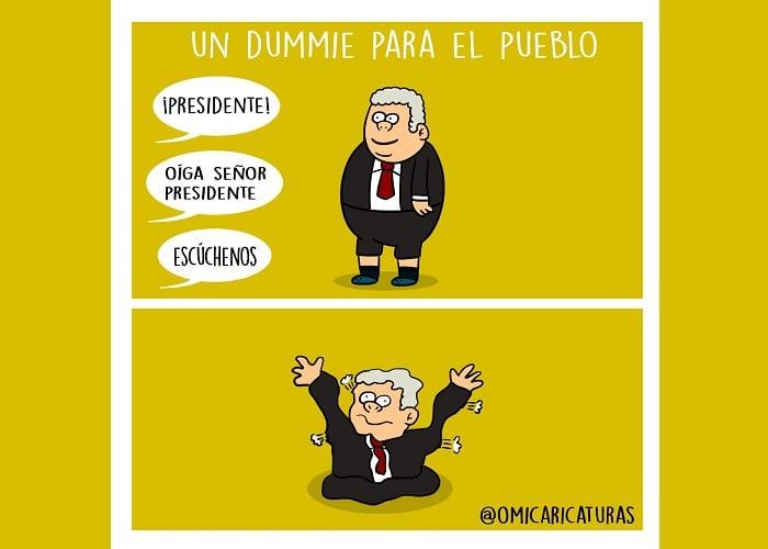 Caricatura: Duque, un dummie para el pueblo
