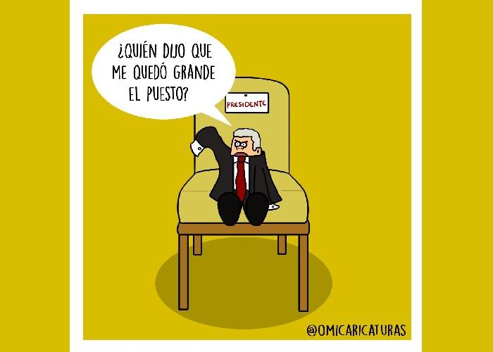 Caricatura: Duque, dirigir el país le quedó grande