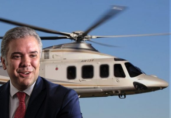 El lujoso helicóptero que Duque compró en plena pandemia