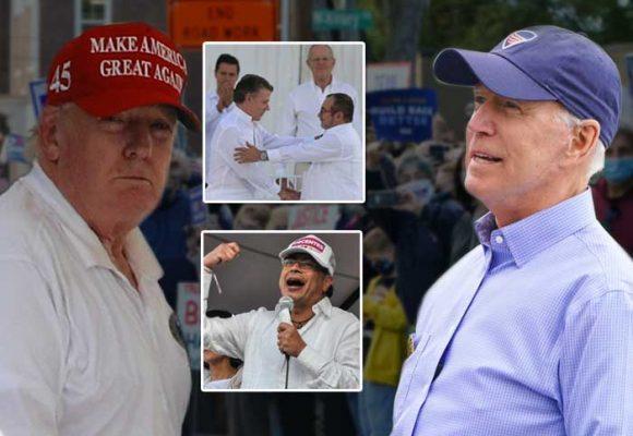 La pelea Trump vs. Biden por los votos de Miami en la que metió a Colombia