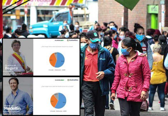 La pandemia les pasa factura a los alcaldes: Claudia López y Quintero bajan duro