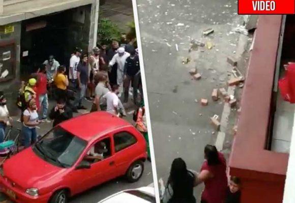 Explosión cerca a la sede de la Unión Patriótica en Medellín