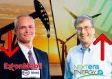 La caída de ExxonMobil y el ascenso de NEE, generadora de energías alternativas