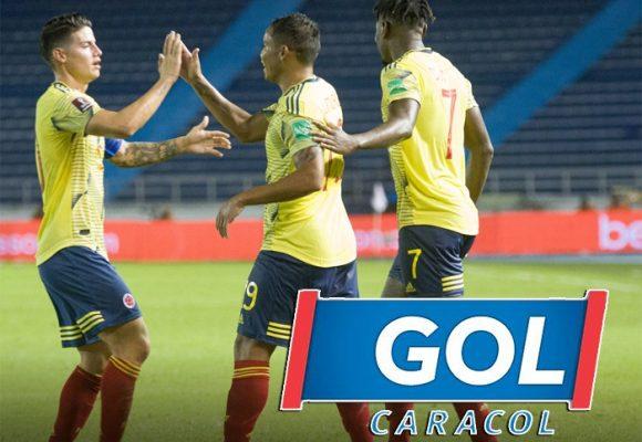El partido de la Selección Colombia batió récord de raiting
