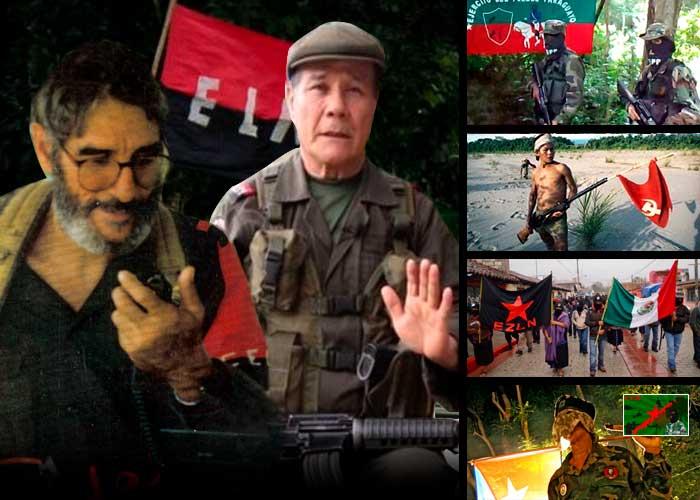 El Eln y otras cuatro guerrillas sobreviven en América Latina