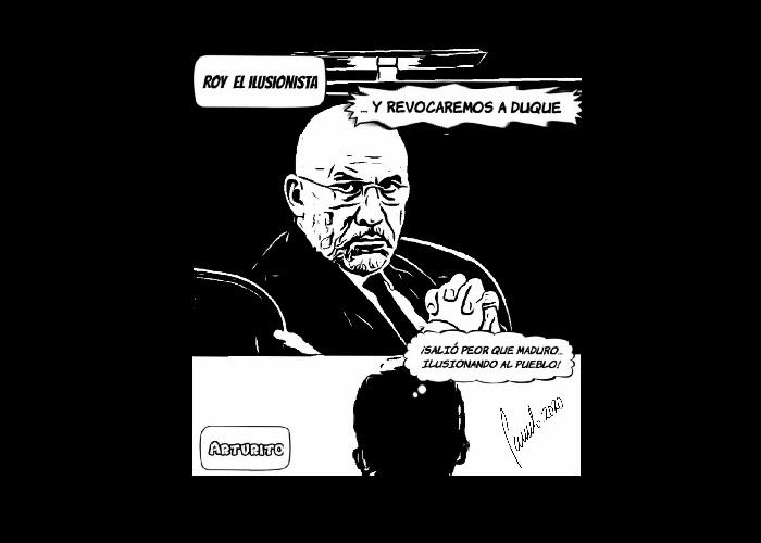 Caricatura: Roy, el ilusionista