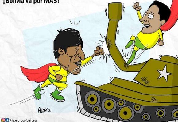 Caricatura: ¡Bolivia va por MAS!
