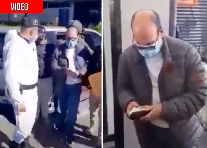 Así fue la llegada de Jorge 40 a la cárcel de Picaleña en Ibagué