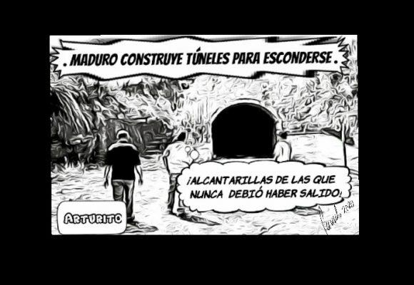 Caricatura: Roedor mañoso