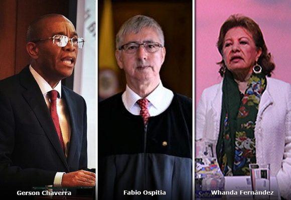 Los tres magistrados que definirán el futuro de Andrés Felipe Arias